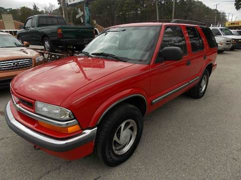 2001 Chevrolet Blazer for sale at Deer Park Auto Sales Corp in Newport News VA