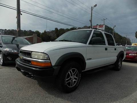 2004 Chevrolet S-10 for sale at Deer Park Auto Sales Corp in Newport News VA