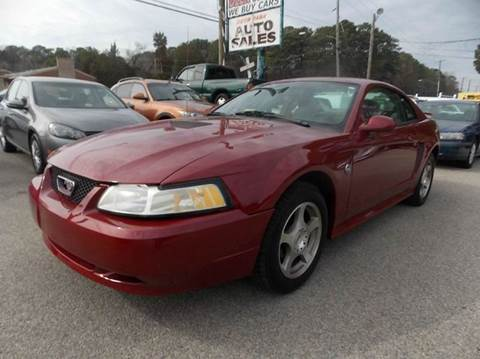 2004 Ford Mustang for sale at Deer Park Auto Sales Corp in Newport News VA