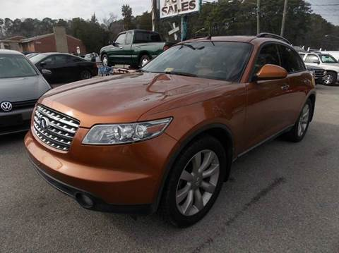2003 Infiniti FX45 for sale at Deer Park Auto Sales Corp in Newport News VA