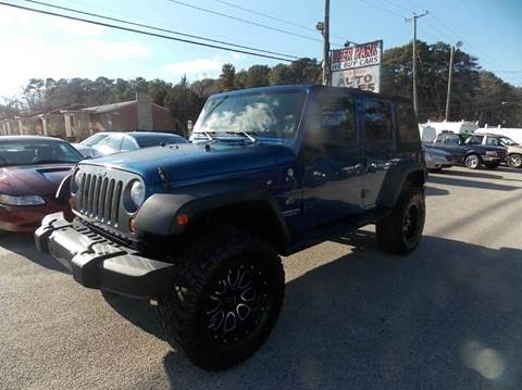 2010 Jeep Wrangler Unlimited for sale at Deer Park Auto Sales Corp in Newport News VA
