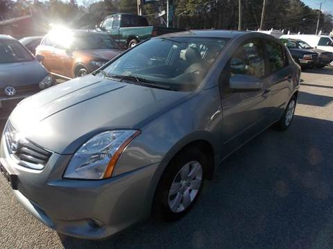 2012 Nissan Sentra for sale at Deer Park Auto Sales Corp in Newport News VA