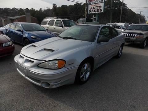 2004 Pontiac Grand Am for sale at Deer Park Auto Sales Corp in Newport News VA