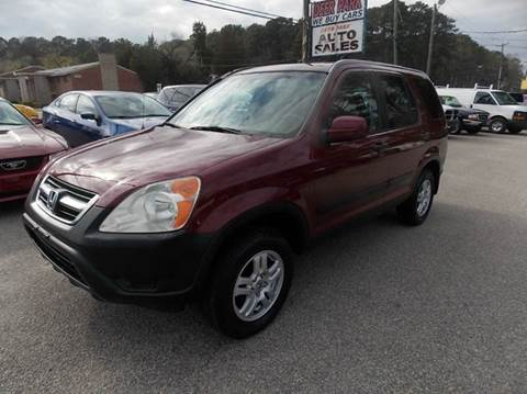 2004 Honda CR-V for sale at Deer Park Auto Sales Corp in Newport News VA