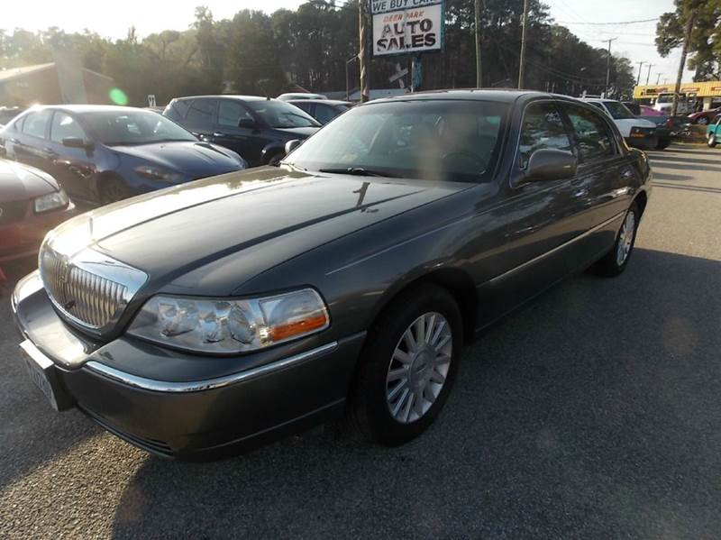 2003 Lincoln Town Car Executive 4dr Sedan In Newport News Va Deer
