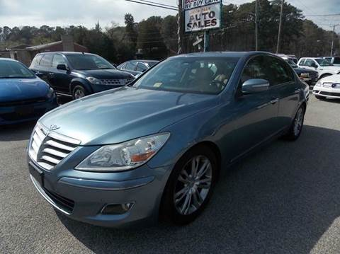 2009 Hyundai Genesis for sale at Deer Park Auto Sales Corp in Newport News VA