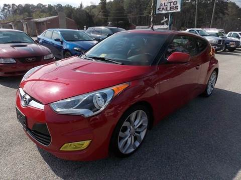 2012 Hyundai Veloster for sale at Deer Park Auto Sales Corp in Newport News VA