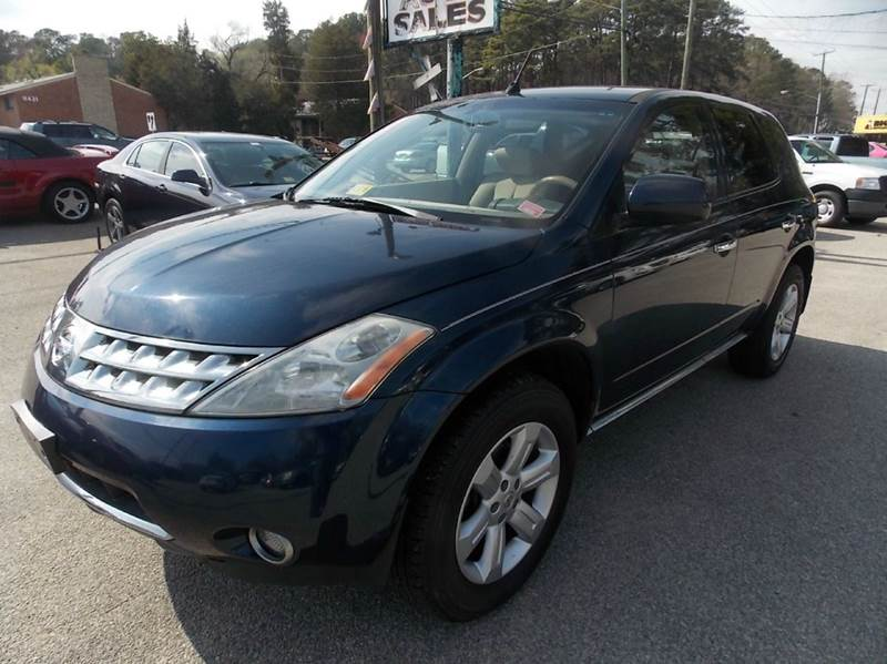 2006 Nissan Murano for sale at Deer Park Auto Sales Corp in Newport News VA