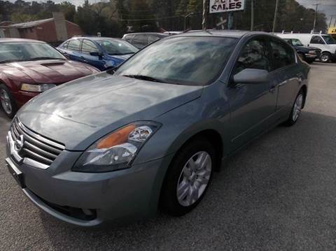 2009 Nissan Altima for sale at Deer Park Auto Sales Corp in Newport News VA