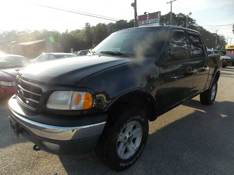 2002 Ford F 150 Lariat 4dr Supercrew 4wd Styleside Sb In Newport