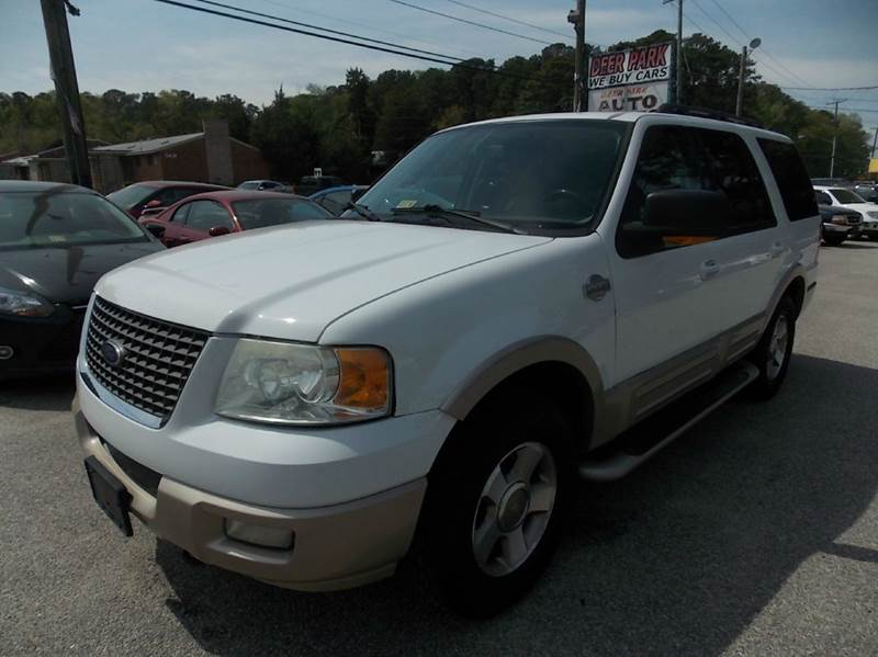 2006 ford expedition king ranch 4x4
