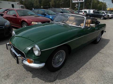 1971 MG MGB for sale at Deer Park Auto Sales Corp in Newport News VA