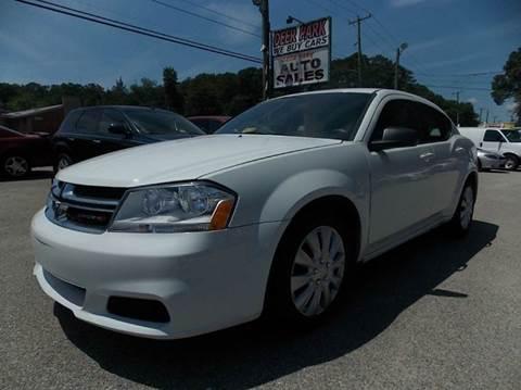 2012 Dodge Avenger for sale at Deer Park Auto Sales Corp in Newport News VA