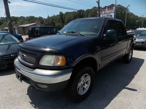 2002 Ford F-150 for sale at Deer Park Auto Sales Corp in Newport News VA