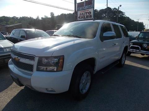 2007 Chevrolet Tahoe for sale at Deer Park Auto Sales Corp in Newport News VA