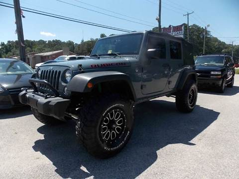 2015 Jeep Wrangler Unlimited for sale at Deer Park Auto Sales Corp in Newport News VA