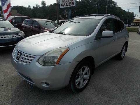 2008 Nissan Rogue for sale at Deer Park Auto Sales Corp in Newport News VA