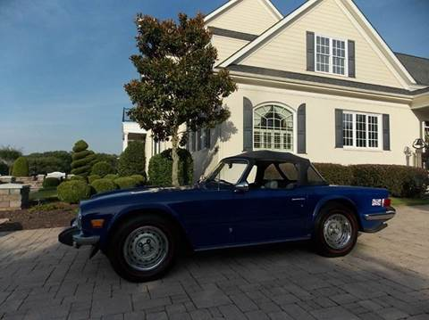 1975 Triumph TR6 for sale at Deer Park Auto Sales Corp in Newport News VA