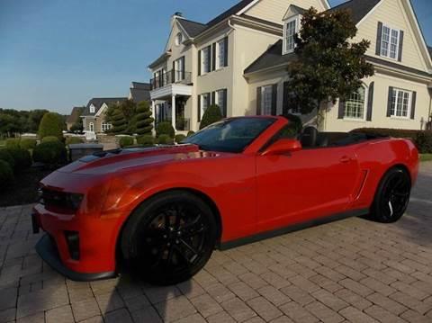 2013 Chevrolet Camaro for sale at Deer Park Auto Sales Corp in Newport News VA