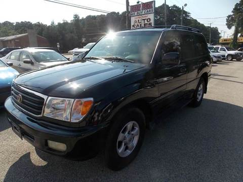 1999 Toyota Land Cruiser for sale at Deer Park Auto Sales Corp in Newport News VA