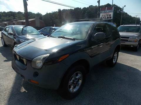 1999 Isuzu VehiCROSS for sale at Deer Park Auto Sales Corp in Newport News VA