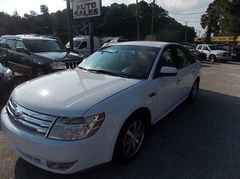 2008 Ford Taurus for sale at Deer Park Auto Sales Corp in Newport News VA