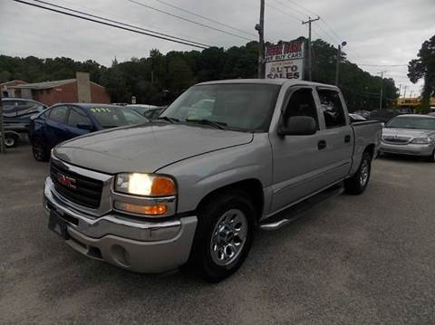 2006 GMC Sierra 1500 for sale at Deer Park Auto Sales Corp in Newport News VA