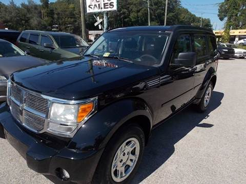2010 Dodge Nitro for sale at Deer Park Auto Sales Corp in Newport News VA