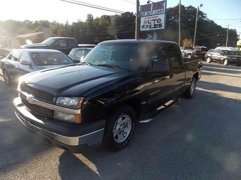 2004 Chevrolet Silverado 1500 for sale at Deer Park Auto Sales Corp in Newport News VA