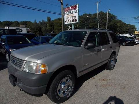 2004 Ford Explorer for sale at Deer Park Auto Sales Corp in Newport News VA