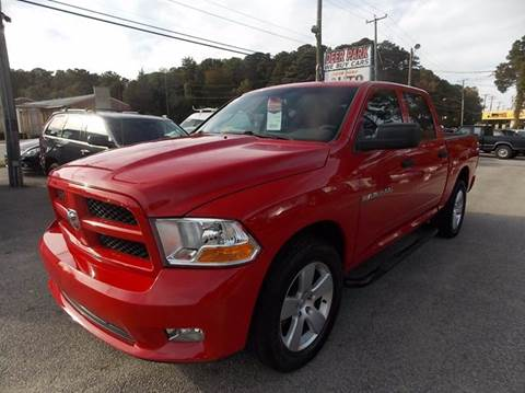 2012 RAM Ram Pickup 1500 for sale at Deer Park Auto Sales Corp in Newport News VA