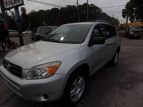 2008 Toyota RAV4 for sale at Deer Park Auto Sales Corp in Newport News VA