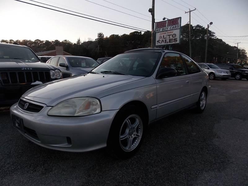 2000 Honda Civic EX 2dr Coupe   Newport News VA