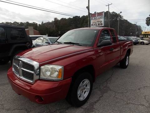 2007 Dodge Dakota for sale at Deer Park Auto Sales Corp in Newport News VA