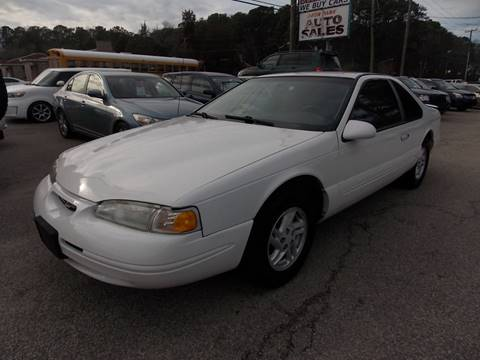 1997 Ford Thunderbird for sale at Deer Park Auto Sales Corp in Newport News VA