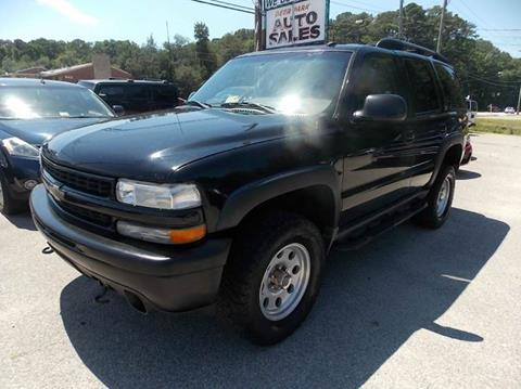2002 Chevrolet Tahoe for sale at Deer Park Auto Sales Corp in Newport News VA