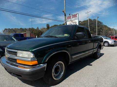 2003 Chevrolet S-10 for sale at Deer Park Auto Sales Corp in Newport News VA