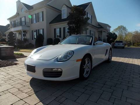 2006 Porsche Boxster for sale at Deer Park Auto Sales Corp in Newport News VA