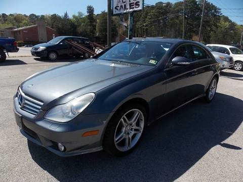 2006 Mercedes-Benz CLS for sale at Deer Park Auto Sales Corp in Newport News VA