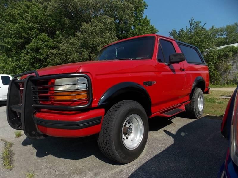 1995 Ford Bronco 2dr XLT 4WD SUV In Newport News VA - Deer ...
