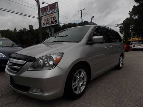 2005 Honda Odyssey for sale at Deer Park Auto Sales Corp in Newport News VA