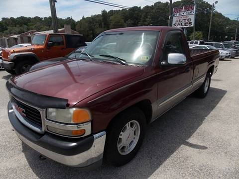 2000 GMC Sierra 1500 for sale at Deer Park Auto Sales Corp in Newport News VA
