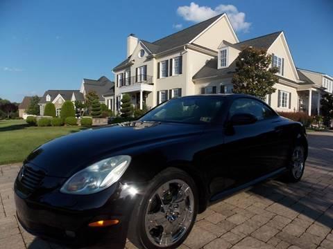 2002 Lexus SC 430 for sale at Deer Park Auto Sales Corp in Newport News VA