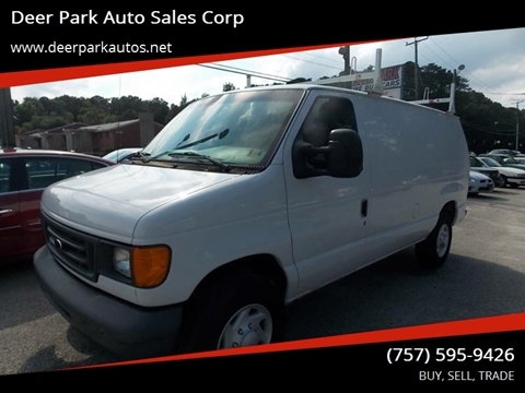 2007 Ford E-Series Cargo for sale at Deer Park Auto Sales Corp in Newport News VA