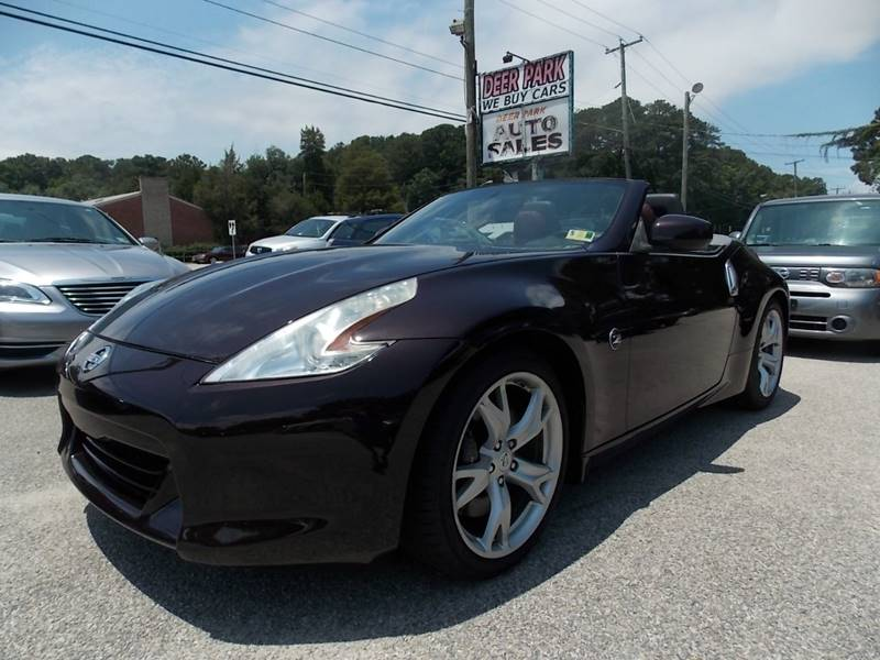 2010 Nissan 370z Roadster Touring 2dr Convertible 6m In Newport News