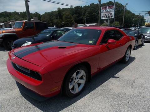 2012 Dodge Challenger for sale at Deer Park Auto Sales Corp in Newport News VA