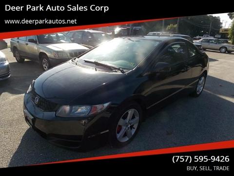 2011 Honda Civic for sale at Deer Park Auto Sales Corp in Newport News VA