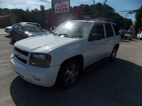 2006 Chevrolet TrailBlazer for sale at Deer Park Auto Sales Corp in Newport News VA
