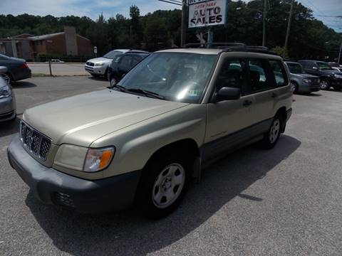 2001 Subaru Forester for sale at Deer Park Auto Sales Corp in Newport News VA