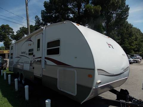 2008 Keystone Outback 31' for sale at Deer Park Auto Sales Corp in Newport News VA